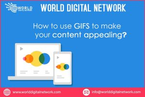 GIFS to make your content appealing